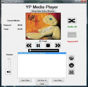 YP Media Player Beta 2